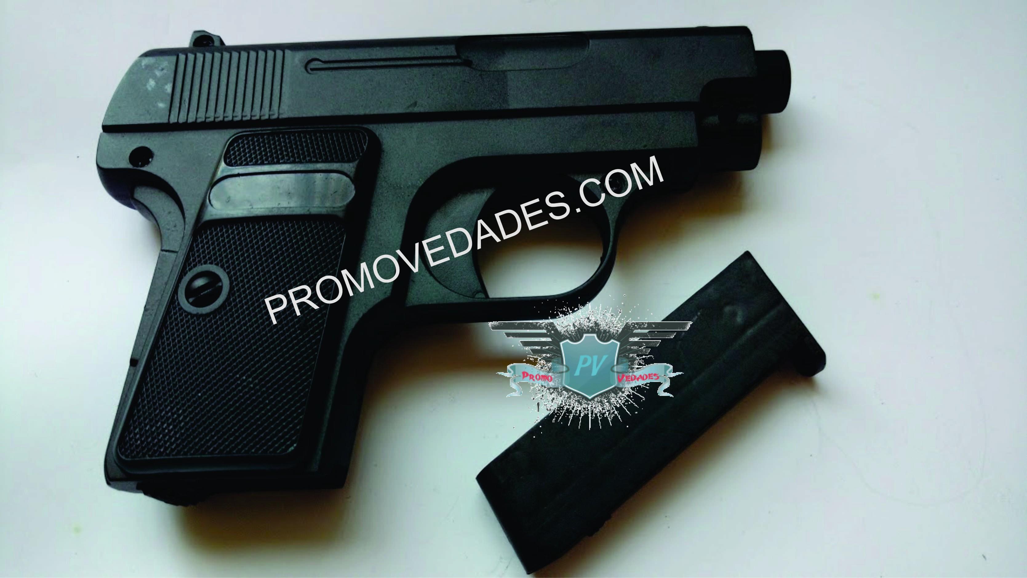 Promovedades | REPLICA COLT cal 25 resorte 6mm METALICA