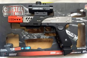 pistola GLOCK 18 automatica de HIDROGEL 2019