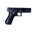 pistola GLOCK DE ENTRENAMIENTO