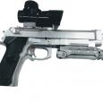pistola beretta plata de hiidrogel-promovedades